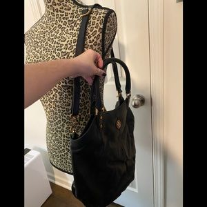 Leather Tory Burch bag